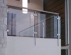 Stainless Steel Balcony Glass Grill