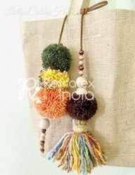 Decorative Pom Pom Tassels
