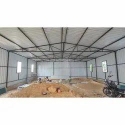 Steel Prefabricated Industrial Shed