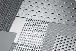 Round Stainless Steel SS Perforated Coil, For Industrial