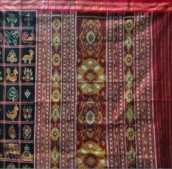 Utkaladitri Festive Wear Ladies Nabakothi Silk Saree, Without blouse piece, 5.5 m