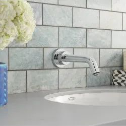 Stainless Steel Silver Bathroom Water Faucets