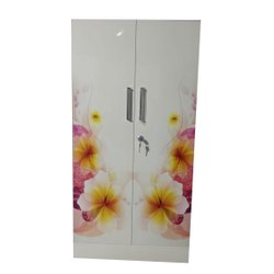 7 Feet Double Door Full Prints Almirah