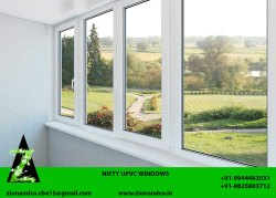 EITI White UPVC Windows, Thickness Of Glass: 5mm Saint Gobin
