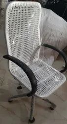 High Back Wire Chair