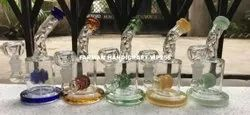 Small Smoking Clear Glass Water Pipe