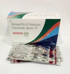 Amoxycillin And Clavulanate 625mg Tablets