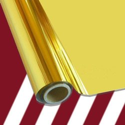 Gold Coloured Metallic Laminated Non-Woven Fabric