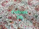 Pure Cotton Embroidered Fabric