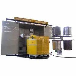 7HP Bi Axial Rotational Moulding Machine