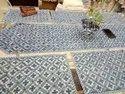 Cotton Hand Block Printed Table Mat Runner