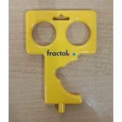 Plastic Covid Key