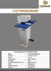 D Cut Punching Machine