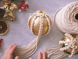 Fascinating Macrame Christmas Ornaments