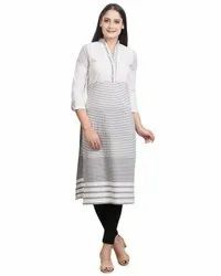 Ladies Cotton Kurti, Wash Care: Machine wash
