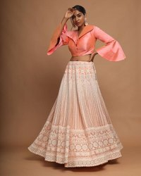 Multicolor Indo Western Gown