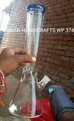 CLASSIC BEAKER GLASS WATER SMOKING PIPE