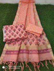 Ethnic Chanderi Suit