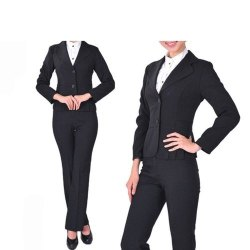 Cotton Ladies Hotel Formal Uniform