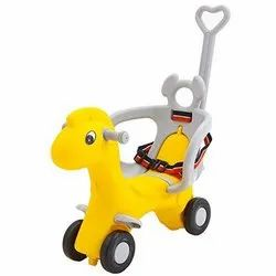 Baybee 2 in 1 Baby Horse Rider-Kids Ride-On Push Car, Toy Horse Ride-On,  for Kids Age 1-3 Years
