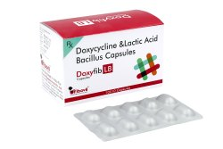 Doxyfib LB 100mg Doxycycline and Lactic Acid Bacillus Capsules