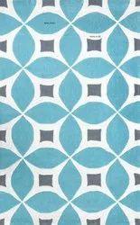 Rectangular Woolen handmade Carpet, Size: 2x8 Feet
