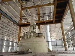 304 Stainless Steel SS Reactor Vessel, Max Design Pressure: 15-20 bar, Capacity: 1000-10000L