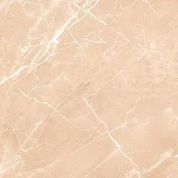 Glossy Brown Glazed Vitrified Tiles GVT, Thickness: 8 - 10 Mm, Size: 600x600mm