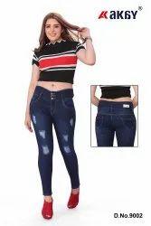 AKAY Skinny Ladies Tone Jeans, 250