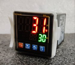 PID  Controller Dual RED Display KEY Touch
