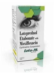 Loteprednol Etabonate & Moxifloxacin Eye Drops
