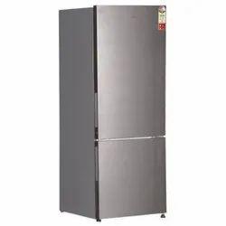 3 Star Inox Steel Haier HRB-2763CIS-E Bottom Mounted Refrigerator, Double Door