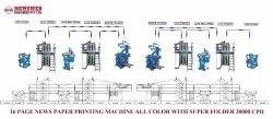 16 Page Web Offset Newspaper Printing Machine