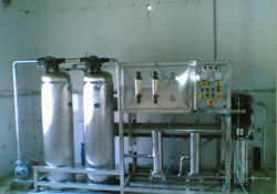 Reverse Osmosis RO Mineral Water Plant, For Industrial