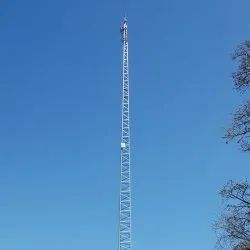 Galvanized Iron Wireless Self Supporting Towers, For Telecom
