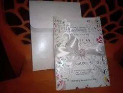 Christian Wedding Cards Laser Cut, 1 Leaflet