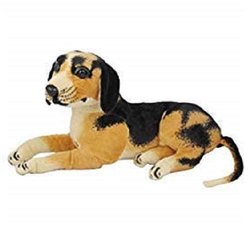 Brown Dog Soft Toy For Kids, Girls & Children Playing Teddy Bear In Size 32 Cm Long
