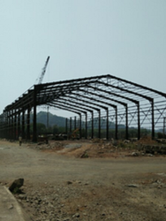 Steel Prefabricated Warehouse Shed
