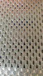 Net Grey Woolen Air Mesh Fabric, Width: 58-60