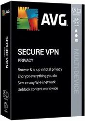 3 Year AVG Secure VPN Software With 5 Device