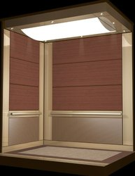 Wooden Elevator Cabin