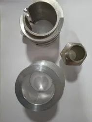 Stainless Steel Compact CNC Lathe Component, Packaging Type: Box