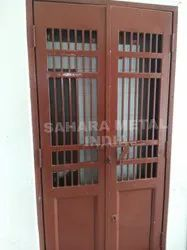 MS Hinged Safety Door, For Home