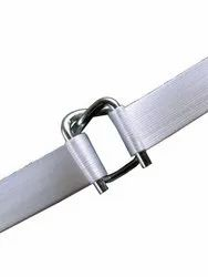 Gi Steel Silver Polyester Composite Strap Buckle, For Packaging Use, Packaging Type: Box