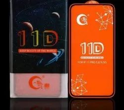 GTel 11D Tempered Glass, Packaging Type: Box, Thickness: 2 Mm