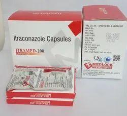 Itraconazole 20010x1x 4 Strip