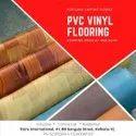 Pvc Vinyl Flooring, For Home, Office