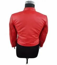 Red Perforated Jackets