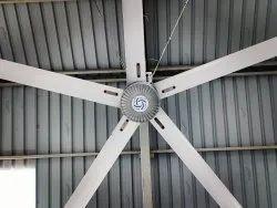 Gearless HVLS Fan