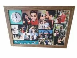 Brown Wooden Photo Frame, For Home